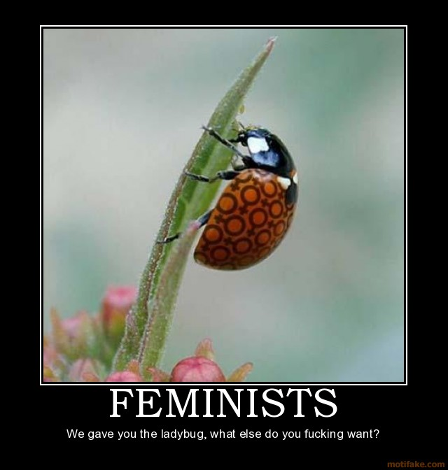 feminist gets fucked