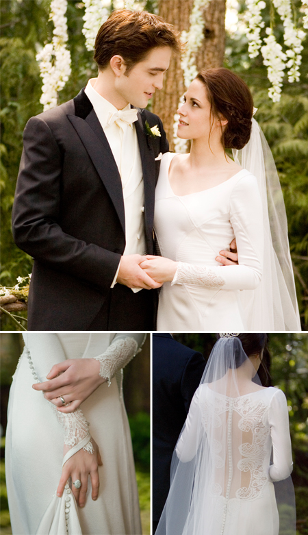 Wedding bella s ohhellwhatthehell for Bella twilight wedding dress