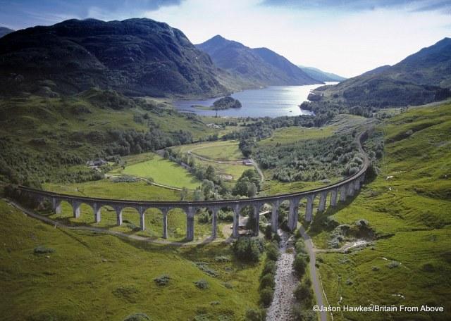 Glenfinnan Railway Viaduct, Scotland.